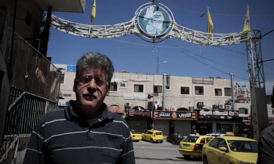Palestinian authority employee Nasser al Azeh.