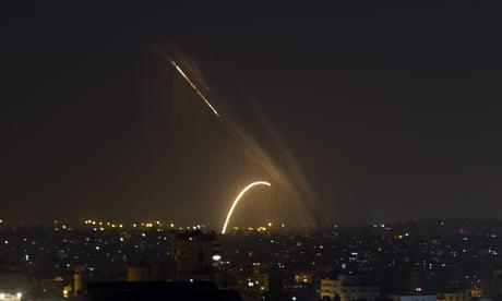 Gaza attacks: tentative truce after Israel strike kills eight Palestinian family members