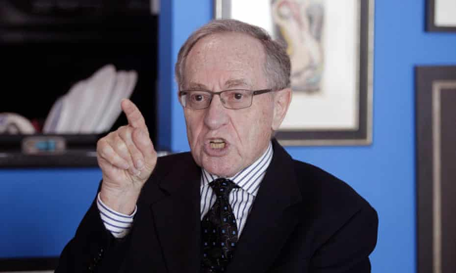 Alan Dershowitz denies the allegations.