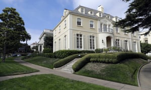 A home in the Presidio Terrace. The neighborhood is one of San Francisco's most expensive and exclusive.