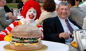 Jim Delligatti at his 90th birthday party in 2008