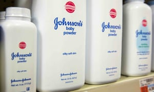 Bottles of Johnson's Baby Powder