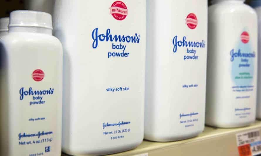 Johnson & Johnson talcum power products
