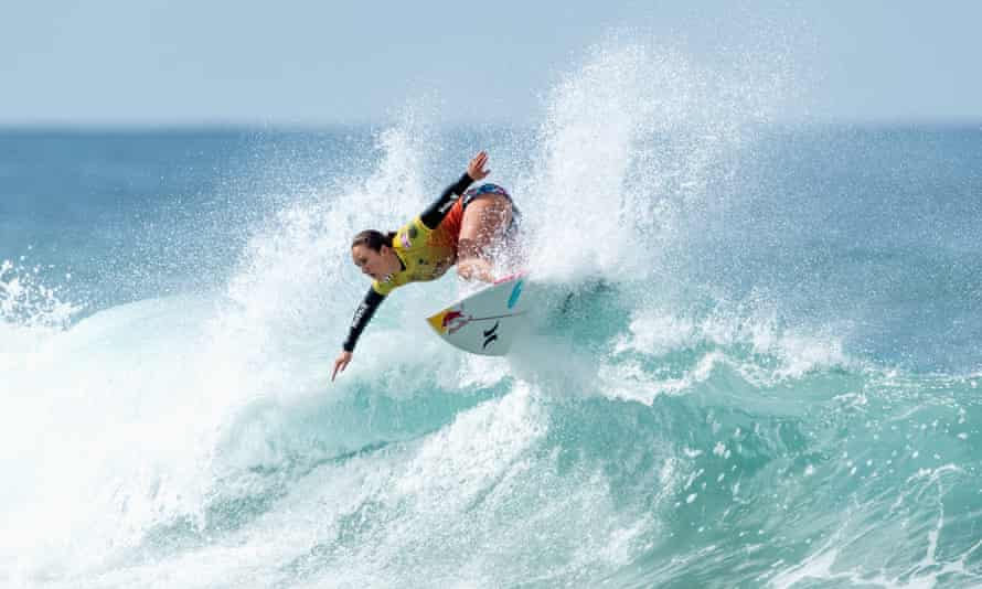 Four-time WSL champion Carissa Moore is the world's leading female surfer.