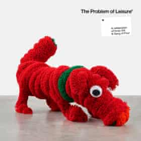 The Problem of Leisure, featuring Dog with Bone cover art by Damien Hirst.