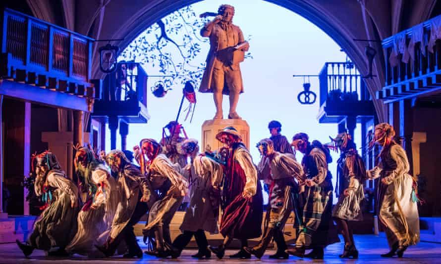 A scene from Die Meistersinger Von Nurnberg by Richard Wagner at Glyndebourne