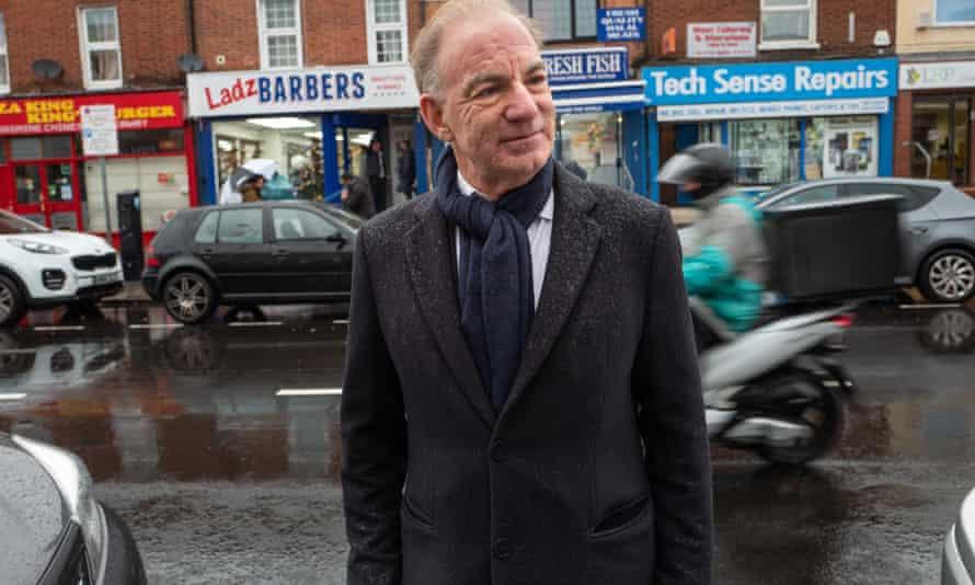 Retail expert Mark Pilkington in Reading.