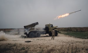 Iraqi forces attack Isis held territory