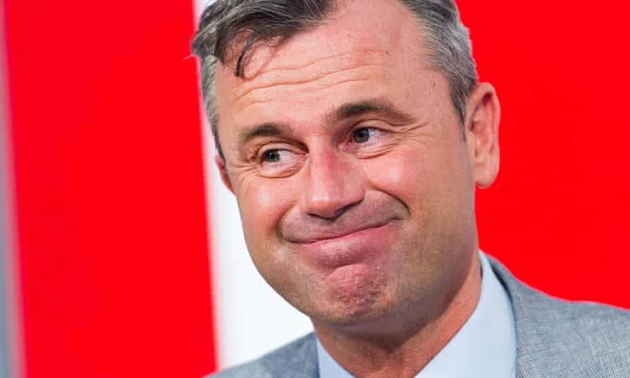 Norbert Hofer, of the Freedom party