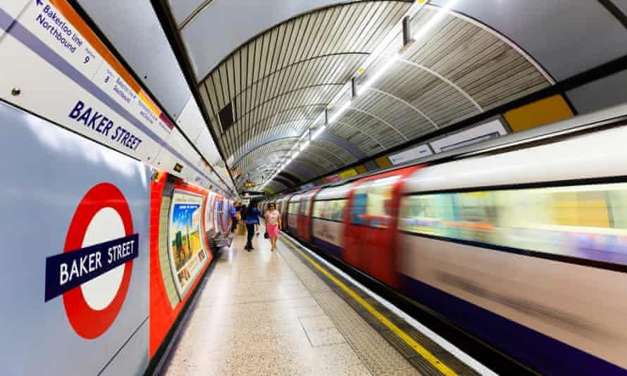 Baker Street station.