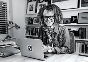 Bernardine Evaristo, professor of creative writing at Brunel University London
