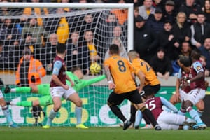 Neves lashes home from 20 yards out to score the opener.
