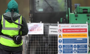 Defra said humane culling of all birds at the Lancashire farm was continuing while Public Health England said the risk to public health was very low.