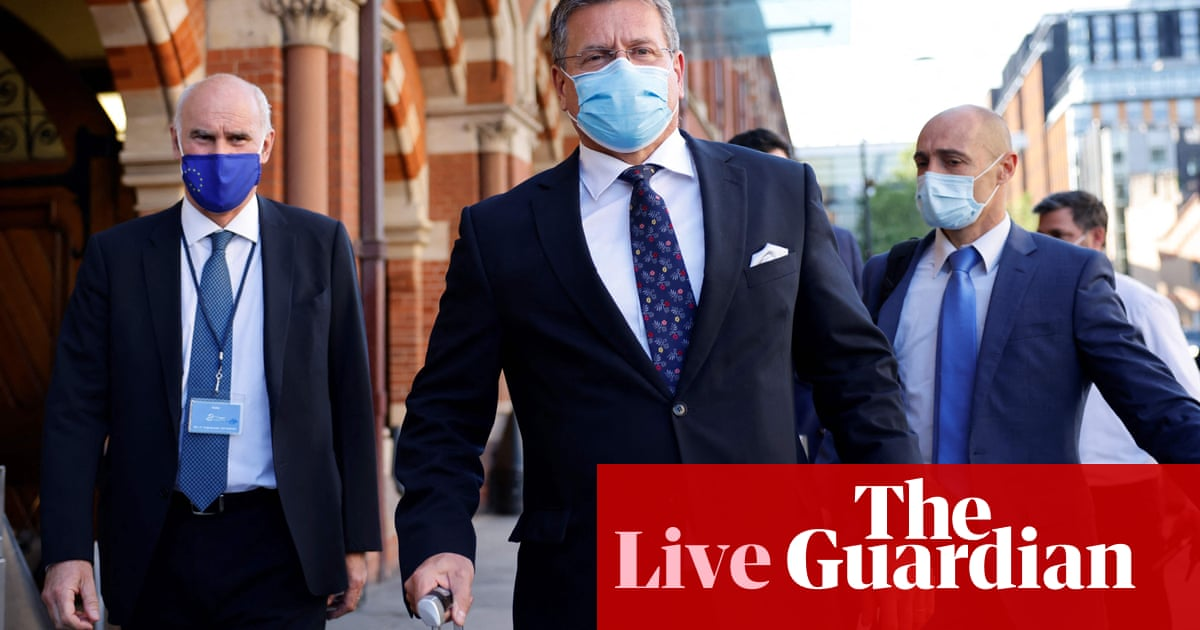 Senior Tory accuses No 10 of falsely claiming it did not realise damage of Brexit in Northern Ireland – politics live