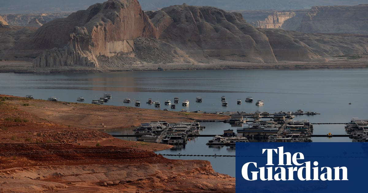 'Climate change has become real': extreme weather sinks prime US tourism site