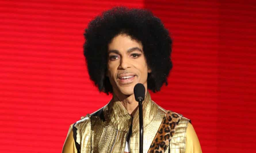 Vast amount of unreleased music … Prince in 2015.