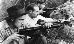 French Maquis resistance fighters worked against the Vichy regime and helped to shelter and protect Jews from persecution during the second world war.