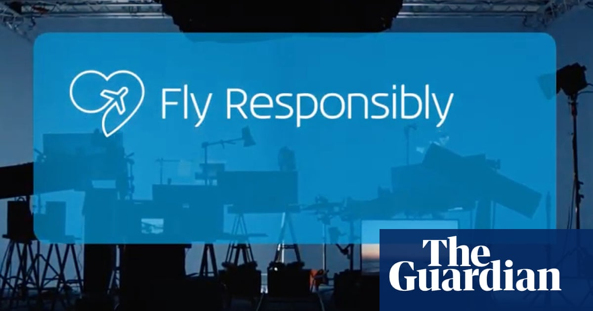 Dutch airline KLM calls for people to fly less