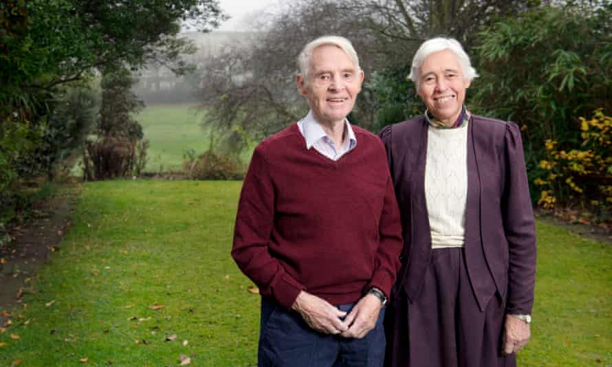 Twins Andrew Evans and Margaret Esiri.