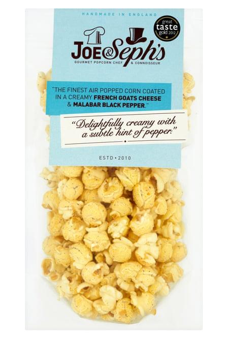 Joe & Seph's popcorn: launched six years ago