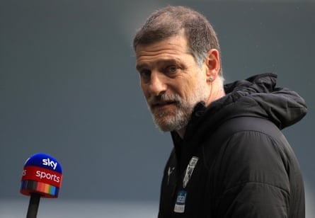 Under pressure: Slaven Bilic is feeling the heat at West Brom after one win in 11 league games.