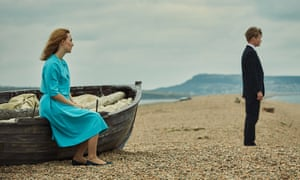 Marooned as if washed up from some disaster … On Chesil Beach stars Saoirse Ronan and Billy Howle