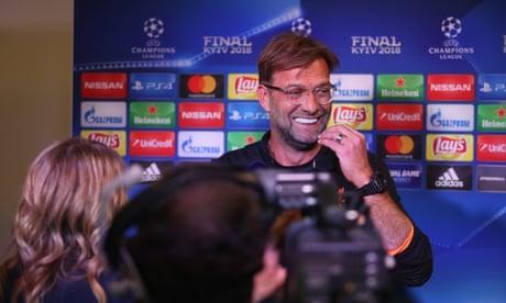 Jürgen Klopp laughs off Zinedine Zidane critics before Champions League Final - video