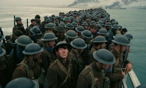 A scene from Christopher Nolan's Dunkirk.