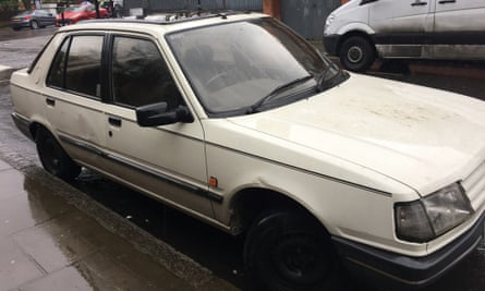 Carole's 29-year-old Peugeot