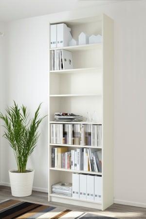 Ikea's Billy bookcase.