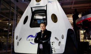 Elon Musk is spending billions on developing a space travel programme.