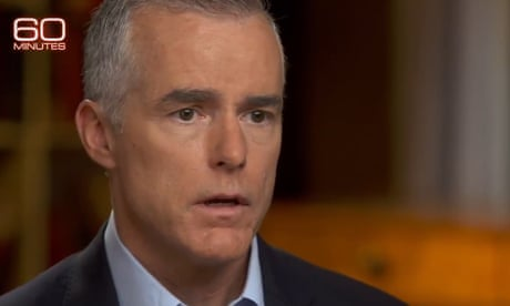 Andrew McCabe claims Trump believed Putin over US intelligence – video