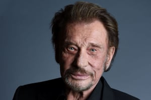 French rock star Johnny Hallyday being treated for cancer