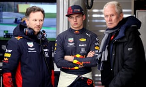 Helmut Marko (right) wanted to take Max Verstappen (centre) and the other drivers to a camp where it would be the 'ideal time for the infection to come'.