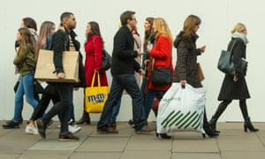 Britons kept shopping despite economic uncertainty after the Brexit vote.
