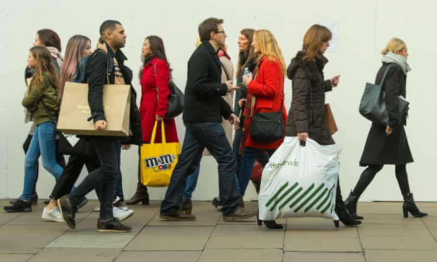 Britons kept shopping despite economic uncertainty after the Brexit vote.