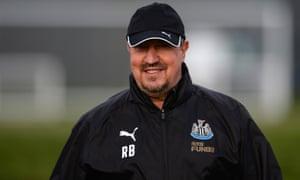 Rafael Benítez, Newcastle United manager