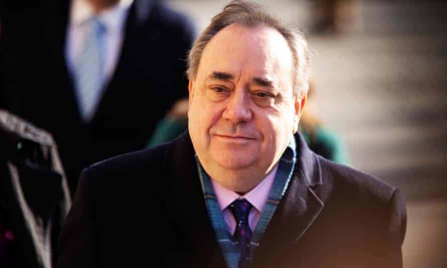 Alex Salmond at Edinburgh high court during his trial.