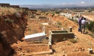 Al-Rahma cemetery in Lebanon.
