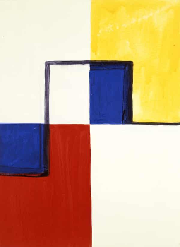 Mary Heilmann's Little Mondrian, 1985.