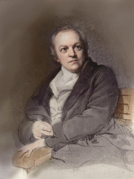 William Blake, after the portrait by T. Phillips