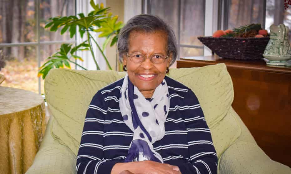 Gladys West, at her home in Virginia.