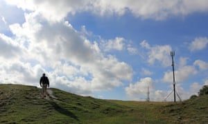 The Trundle, or St Roche's Hill, near Goodwood, West Sussex.