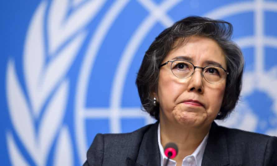 UN special rapporteur to Myanmar, Yanghee Lee