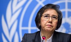 Yanghee Lee, the UN human rights rapporteur on Myanmar