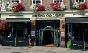 The King and Castle Wetherspoon pub in Windsor.