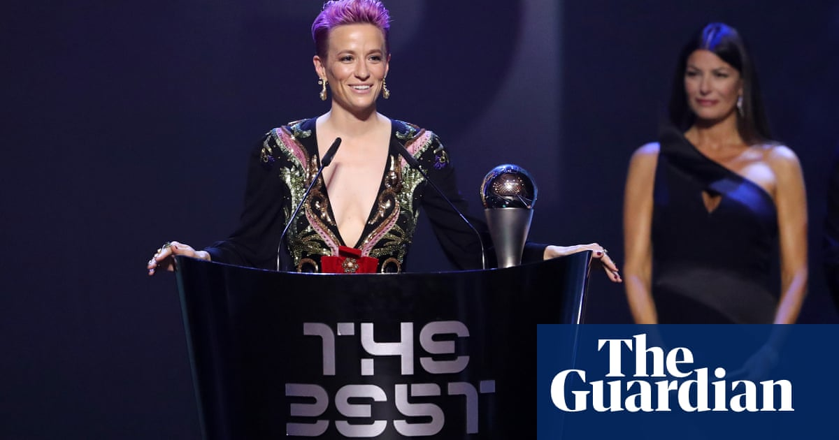 Megan Rapinoe calls out racism and homophobia in Fifa acceptance speech