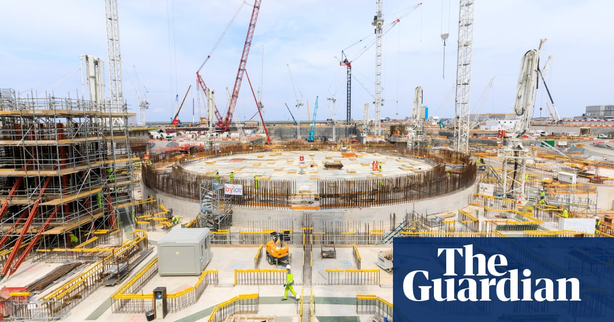 Revealed: mental health crisis at Hinkley Point C construction site