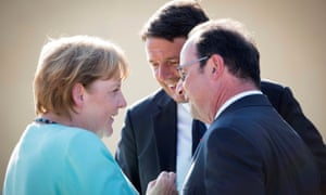Merkel, Renzi and Hollande know they hold all the strongest cards.
