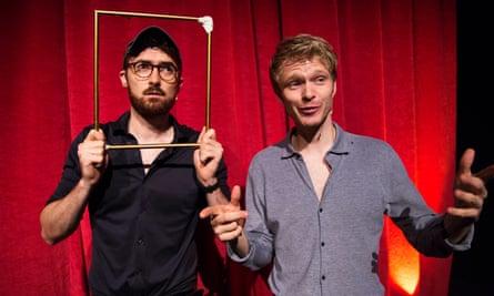 Alex Owen and Ben Ashenden as The Pin at the Edinburgh festival.
